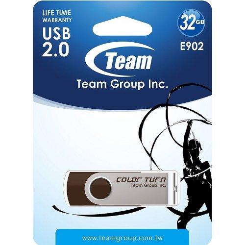 Фото Накопитель Team Color Turn E902 32GB USB 3.0 Brown (TE902332GN01)