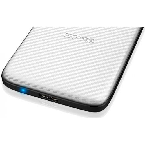 Фото Внешний HDD Silicon Power Diamond D20 2TB (SP020TBPHDD20S3W) White