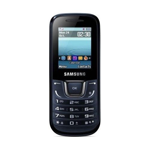 Фото Мобильный телефон Samsung E1282 Duos Blue Black