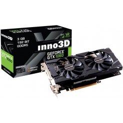 Фото Видеокарта Inno3D GeForce GTX 1060 HerculeZ Twin X2 3072MB (N106F-2SDN-L5GS)