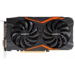 Фото Видеокарта Gigabyte GeForce GTX 1050 Ti G1 Gaming 4096MB (GV-N105TG1 GAMING-4GD)