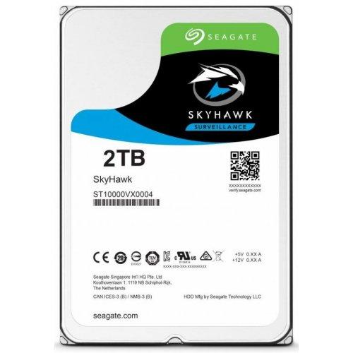Фото Жесткий диск Seagate SkyHawk (Secure) 2TB 64MB 5900RPM 3.5'' (ST2000VX008)