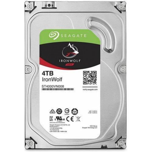 Фото Жесткий диск Seagate IronWolf (NAS) 4TB 64MB 5900RPM 3.5'' (ST4000VN008)