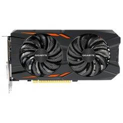 Фото Видеокарта Gigabyte GeForce GTX 1050 Ti WindForce 2X OC 4096MB (GV-N105TWF2OC-4GD)