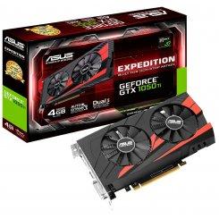 Фото Видеокарта Asus GeForce GTX 1050 Ti Expedition 4096MB (EX-GTX1050TI-4G)