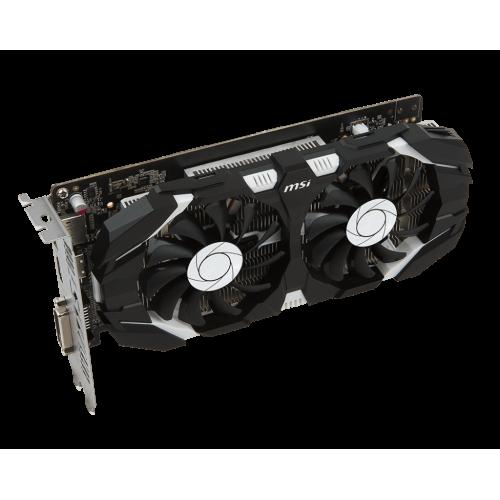 Фото Видеокарта MSI GeForce GTX 1050 Ti Dual Fan OC 4096MB (GTX 1050 TI 4GT OC)