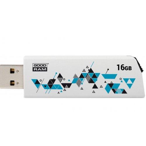 Фото Накопитель GoodRAM Click 16GB USB 2.0 White (UCL2-0160W0R11)