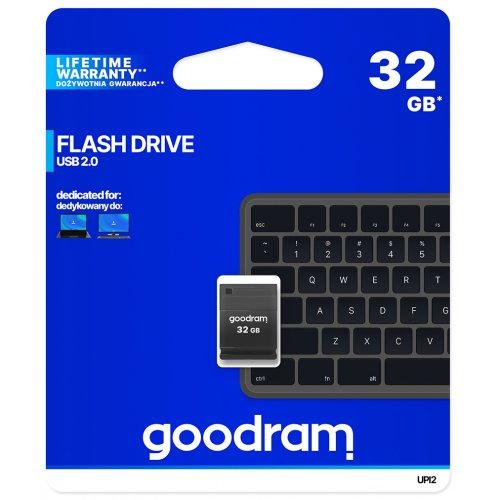 Фото Накопитель GoodRAM Piccolo 32GB USB 2.0 Black (UPI2-0320K0R11)