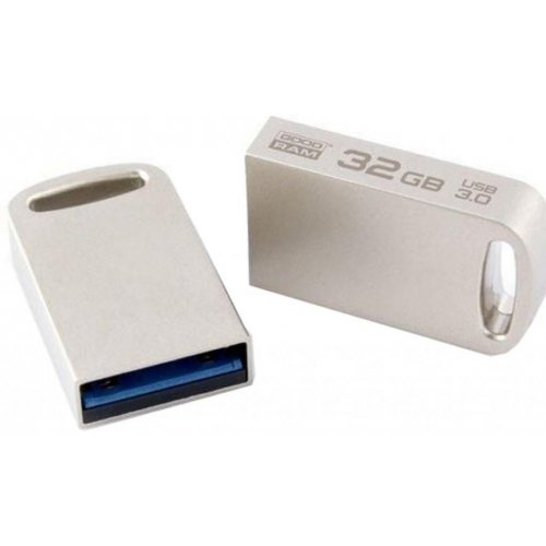 Фото Накопитель GoodRAM Point 32GB USB 3.0 Silver (UPO3-0320S0R11)