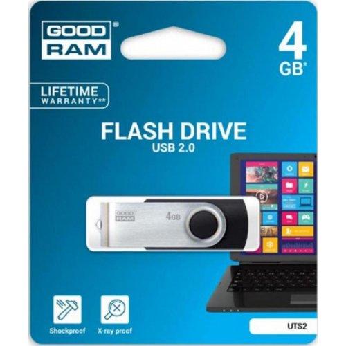 Фото Накопитель GoodRAM Twister 4GB USB 2.0 Black (UTS2-0040K0R11)