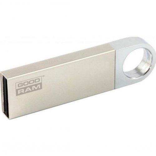 Фото Накопитель GoodRAM Unity 16GB USB 2.0 Silver (UUN2-0160S0R11)