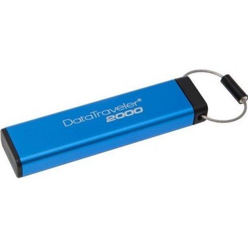 Фото Накопитель Kingston DataTraveler 2000 16GB USB 3.0 Blue (DT2000/16GB)