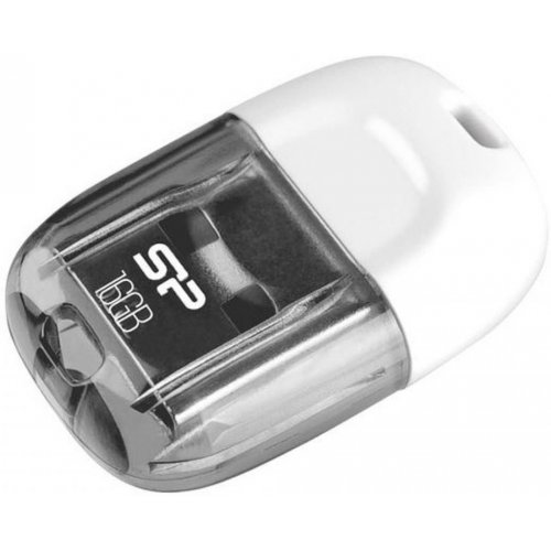 Фото Накопитель Silicon Power Touch T09 16GB USB 2.0 White (SP016GBUF2T09V1W)
