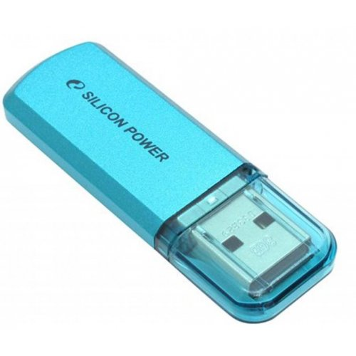 Фото Накопитель Silicon Power Helios 101 64GB USB 2.0 Blue (SP064GBUF2101V1B)