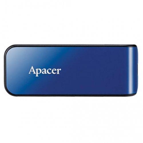 Фото Накопитель Apacer AH334 64GB USB 2.0 Blue (AP64GAH334U-1)