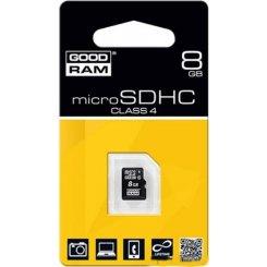 Фото Карта памяти GoodRAM microSDHC 8GB Class 4 (без адаптера) (M400-0080R11)