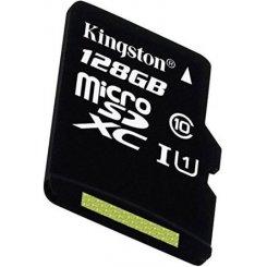 Фото Карта памяти Kingston microSDXC 128GB Class 10 UHS-I (с адаптером) (SDC10G2/128GB)