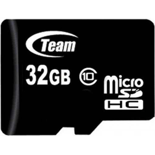 Фото Карта памяти Team microSDHC 32GB Class 10 (без адаптера) (TUSDH32GCL1002)