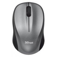 Фото Мышка Trust Vivy Wireless Mini Mouse Silver Grey