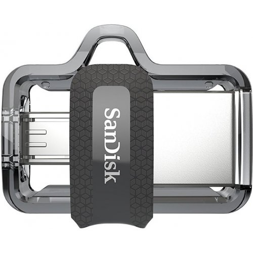 Фото Накопитель SanDisk Ultra Dual OTG 64GB USB 3.0 Black (SDDD3-064G-G46)