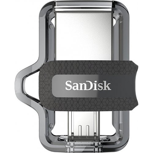 Фото Накопитель SanDisk Ultra Dual OTG 32GB USB 3.0 Black (SDDD3-032G-G46)