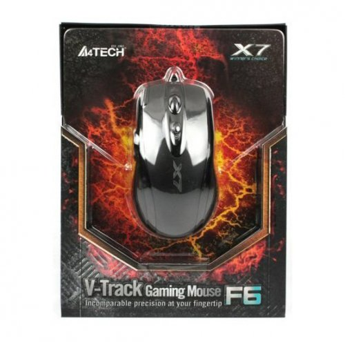 Фото Мышка A4Tech F6 Black