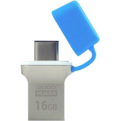 Фото Накопитель GoodRAM ODD3 Type-C 16GB USB 3.0 Blue (ODD3-0160B0R11)