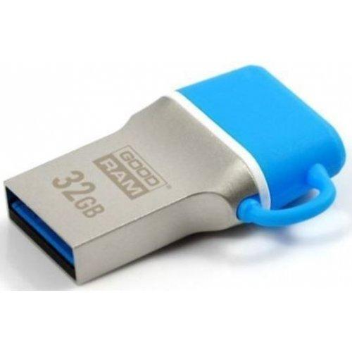 Фото Накопитель GoodRAM ODD3 Type-C32 GB USB 3.0 Blue (ODD3-0320B0R11)