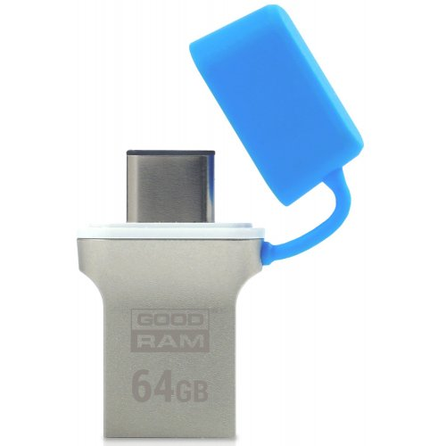 Фото Накопитель GoodRAM ODD3 Type-C 64GB USB 3.0 Blue (ODD3-0640B0R11)