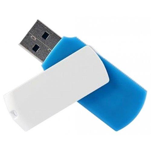 Фото Накопитель GoodRAM Colour Mix 64GB USB 2.0 Blue/White (UCO2-0640MXR11)