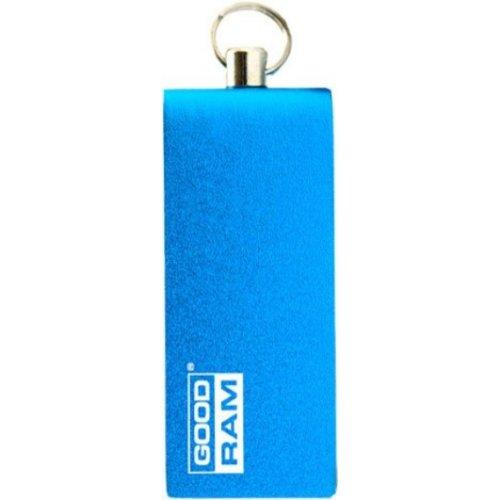 Фото Накопитель GoodRAM CUBE 64GB USB 2.0 Blue (UCU2-0640B0R11)