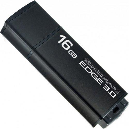 Фото Накопитель GoodRAM Edge 16GB USB 3.0 Black (UEG3-0160K0R11)