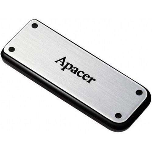 Фото Накопитель Apacer AH328 16GB USB 2.0 Metal Silver (AP16GAH328S-1)