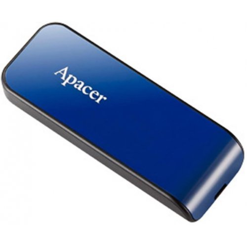 Фото Накопитель Apacer AH334 8GB USB 2.0 Blue (AP8GAH334U-1)