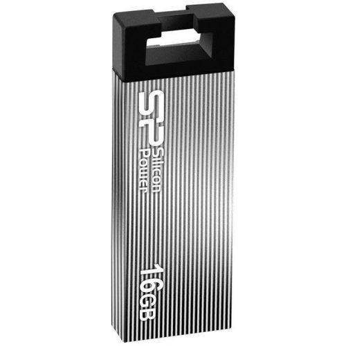Фото Накопитель Silicon Power Touch 835 16GB USB 2.0 Iron Gray (SP016GBUF2835V3T)