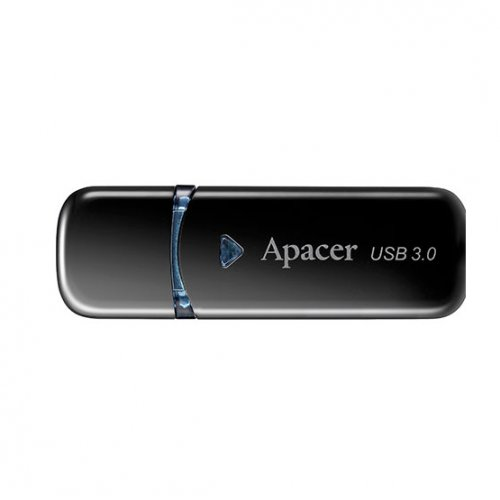 Фото Накопитель Apacer AH355 16GB USB 3.0 Black (AP16GAH355B-1)