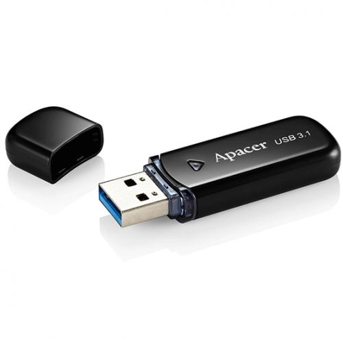 Фото Накопитель Apacer AH355 32GB USB 3.1 Black (AP32GAH355B-1)