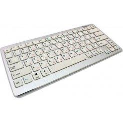 Фото Клавиатура Gembird KB-6411BT-UA Bluetooth Silver