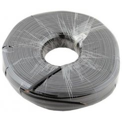 Фото Бухта телефонного кабеля ATcom 100m CCS Phone cable (10121) Black