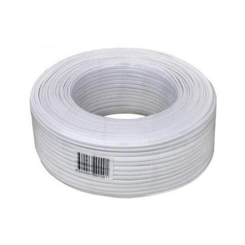 Фото Бухта телефонного кабеля ATcom 100m CCS Phone cable (10120) White