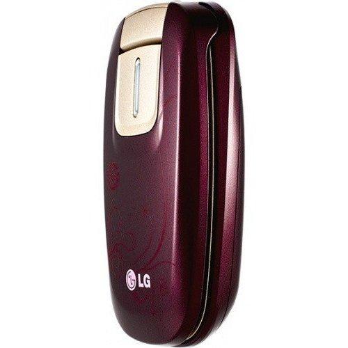 Фото Мобильный телефон LG KG376 Wine Red