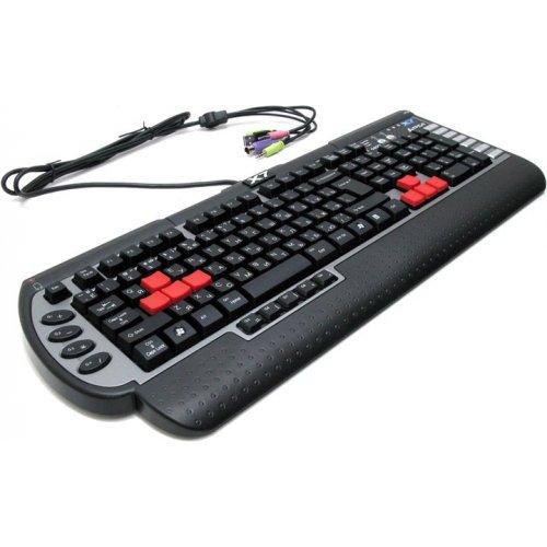 Фото Клавиатура A4Tech X7-G800V USB Black