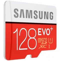 Фото Карта памяти Samsung microSDXC 128GB Evo Plus UHS-I R80/W20MB/s (с адаптером) (MB-MC128DA)