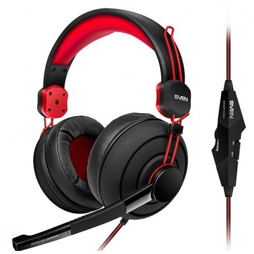 Фото Игровая гарнитура SVEN AP-G888MV Black/Red