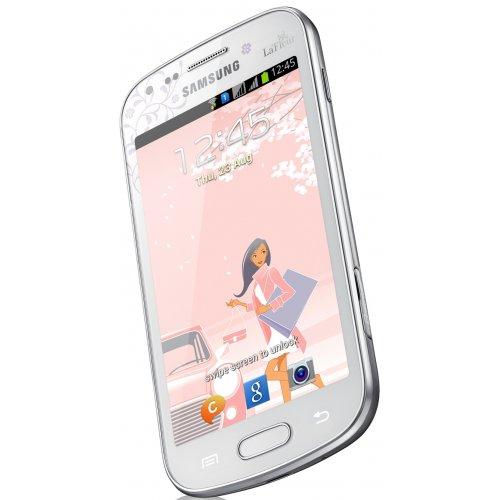Фото Смартфон Samsung Galaxy S Duos S7562 Chic White La Fleur