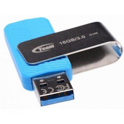Фото Накопитель Team C143 16GB USB 3.0 Blue (TC143316GL01)