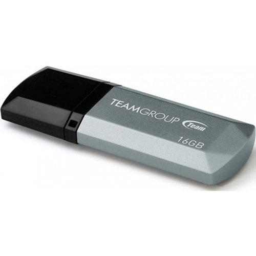 Фото Накопитель Team C153 16GB USB 2.0 Silver (TC15316GS01)