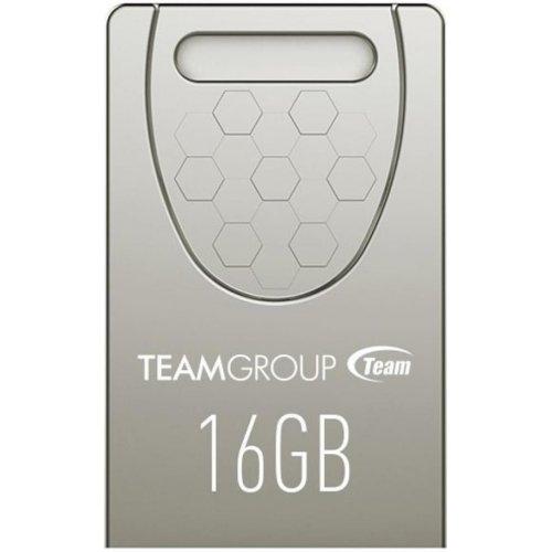 Фото Накопитель Team C156 16GB USB 2.0 Silver (TC15616GS01)