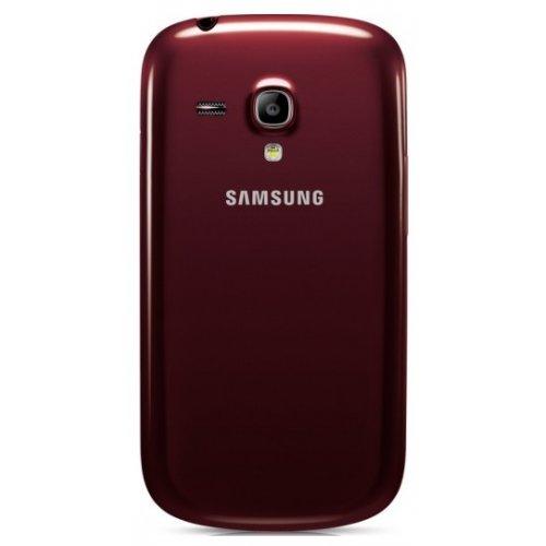 Фото Смартфон Samsung Galaxy S III mini I8190 Garnet Red