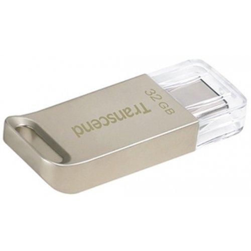 Фото Накопитель Transcend Type-C 850 32GB USB 3.1 Metal (TS32GJF850S)